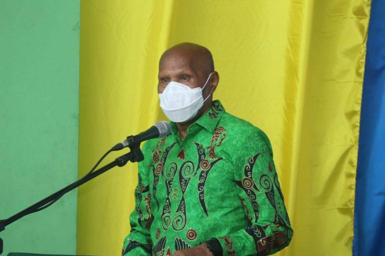 WALIKOTA JAYAPURA, Dr. BENHUR TOMI MANO, MM