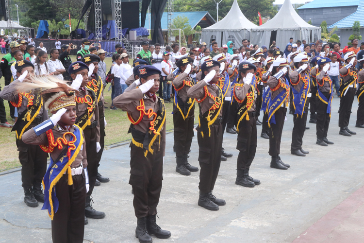 Polisi Cilik Polda Papua