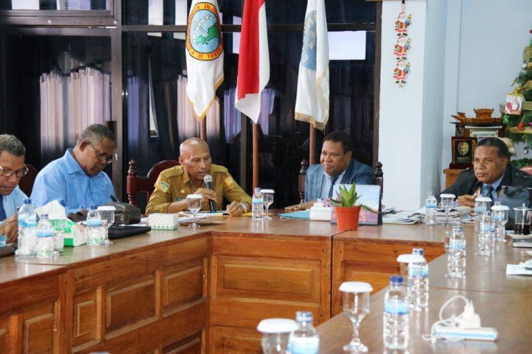 Pertemuan Walikota Dengan Ketua Sinode Dan Badan Pekerja Sinode GKI Di Tanah Papua