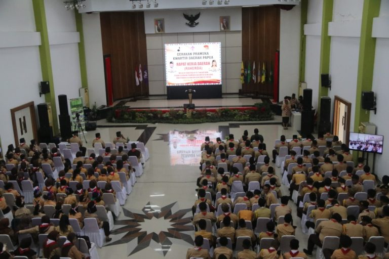 Rapat Kerja Daerah Gerakan Pramuka Kwartir Daerah Papua