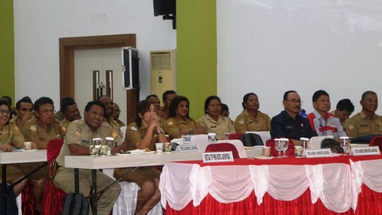 Para Peserta Rakerda Pemerintah Kota Jayapura Tahun 2020