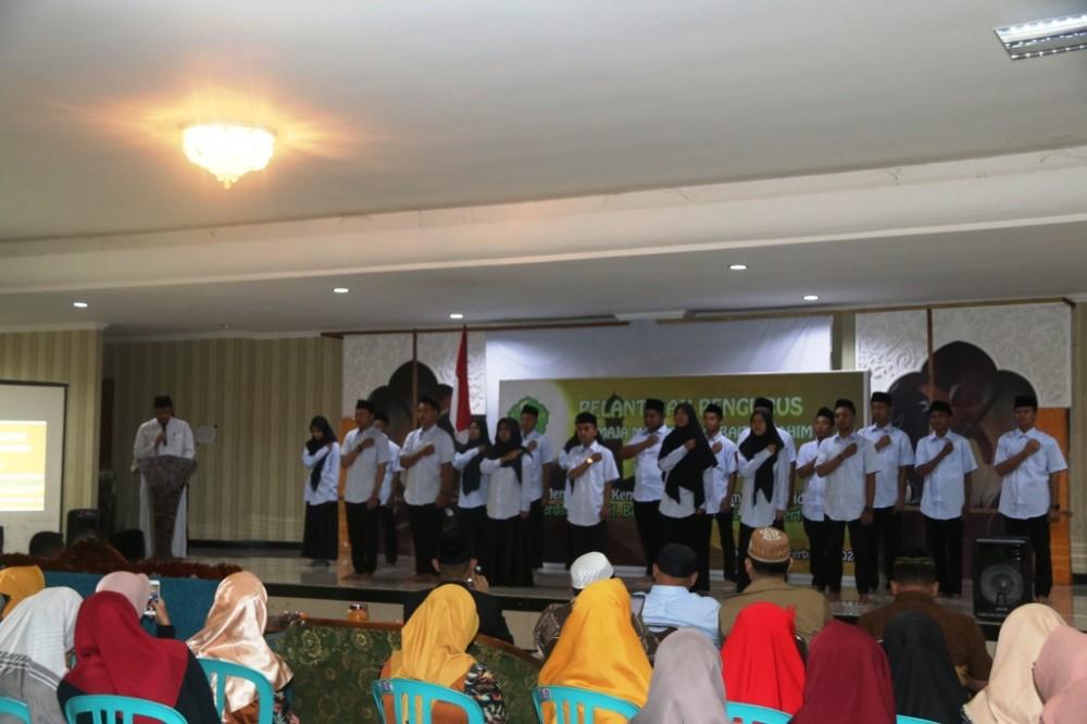 Suasana Pelantikan Remaja Masjid Raya Baiturrahim