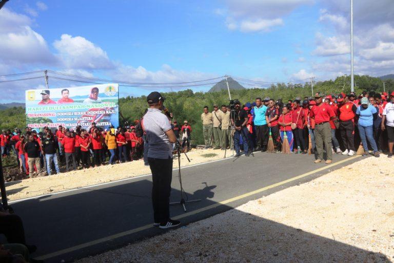 Apel Hari Peduli Sampah Nasional Tingkat Kota Jayapura