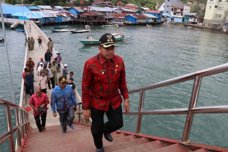 Wakil Walikota Di Kampung Nelayan Hamadi